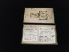 Les différentes missions et les règles spéciales sont indiquées au verso