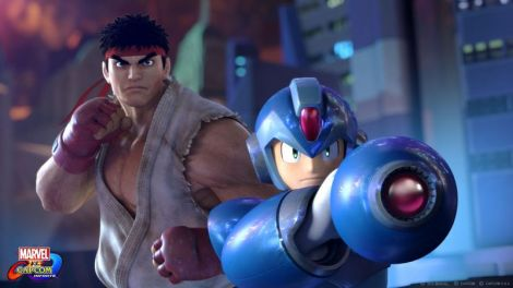 Megaman-Ryu-Marvel-Capcom