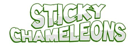Sticky Chameleon-logo